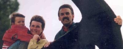 Die Crew 1993 auf Lolland - Time flys !