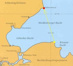 Fluchtweg über die Mecklenburger Bucht