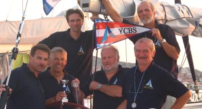 Nach der AOC 2006 auch 2007 beim EC / v.l.n.r: Andy, Toni, Josef, Georg, Werner, Hannes