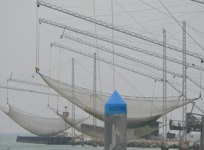 Die Fangnetze an der Piave waren nicht das Problem