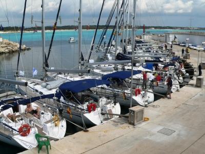 Regatta-Zwischenstopp in der Marina Sa Rapita