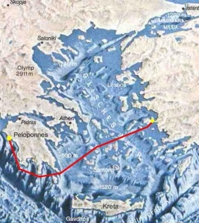 Die zweite Etappe - von Katakolon nach Samos