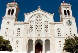 eine v. den 1000 Kirchen  auf Tinos