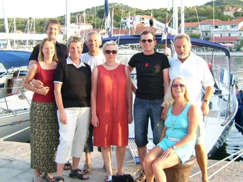 Die Crew der KAJA / 14.-21.7.2007