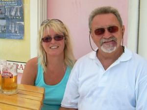 Bierpause - Gerlinde und Pauli