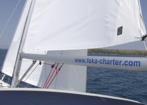 Wind für die Co-Skipperin