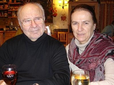FB4-Ausbildner Otto Hiranek mit Gattin