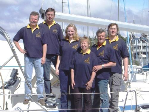 YCBS-Cup-Sieger 2004 - Sk. Höller, Fam. Desch, B. Schettler