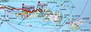 Von Ilovik ist's nicht mehr weit bis Mali Losinj !