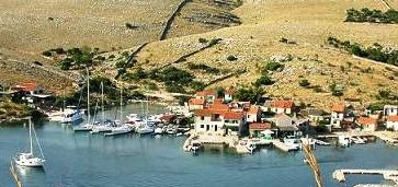 Die Bucht Vrulje auf der Insel Kornat