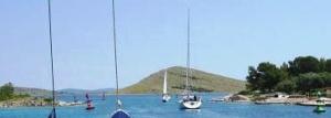 Proversa mala - Durchfahrt Katina / Dugi otok
