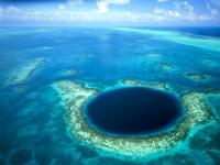 Belize beim Korallen-Atoll Blue Hole