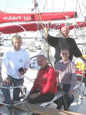 ÖSYC-Cup-Crew v.r.n.l.: Sk. Ferdl, Richard, Werner, Anton