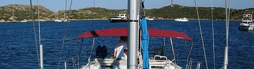 In der Bucht Porto Palma auf Caprera