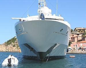 'Klein-Yacht' in Porto Cervo