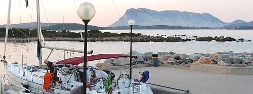 Blick auf die Isola di Tabolara