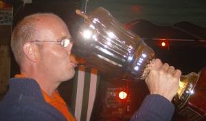 Chrisi hat endlich den Cup-Pokal !