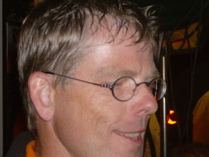 Sommerfest-Haupt-Organisator Stefan Kiesewetter
