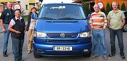 Start Atlantikfahrt auf VW-Atlantis !