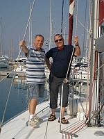 Skipper und Co: Christian und Gerhard