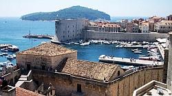 Dubrovnik mit der Insel Lokrum