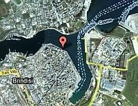 Hafen und Altstadt von Brindisi