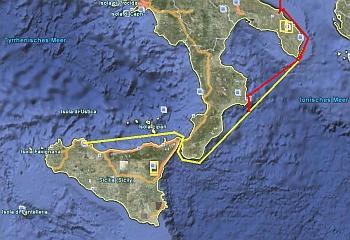 Der Plan/Ist-Weg nach Palermo