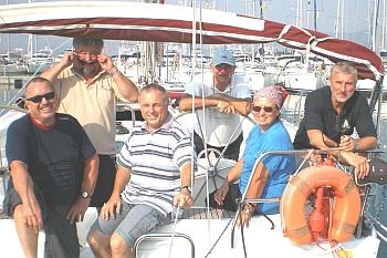 Crew 1 der Bellissima !