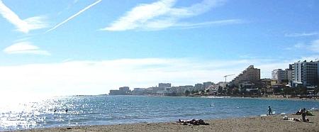 Der Strand bei Benalmadena