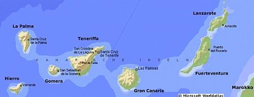 Die Kanarische Inselgruppe