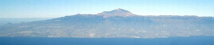 Teneriffa mit Vulkan Teide