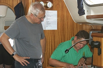 Kartennavigation - Klaus und Richard !