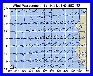 Gleicher Wind seit Tagen !