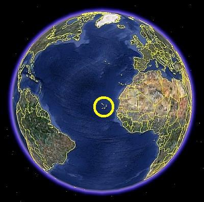 Die Erde dreht sich zZ um die Kapverden !
