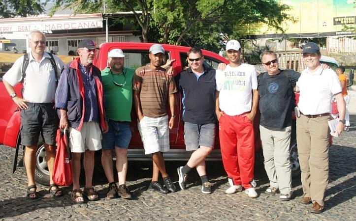Urlauber auf Sao Antao - Gruppe ohne C-laus !