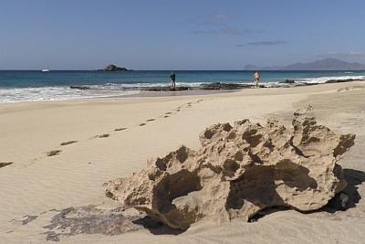 Sandstrand auf Santa Luzia !