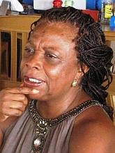 Die Bürgermeisterin von Mindelo / Kapverden