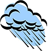 Regen ist vorhergesagt !