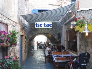 Murter's TIC TAC ist ein sehr gutes Restoran !