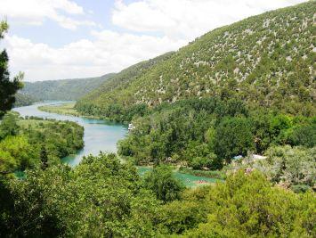 Viel Grün für kroatische Verhältnisse