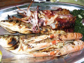 Salis schöne maritime Portion - Restoran Kornati !