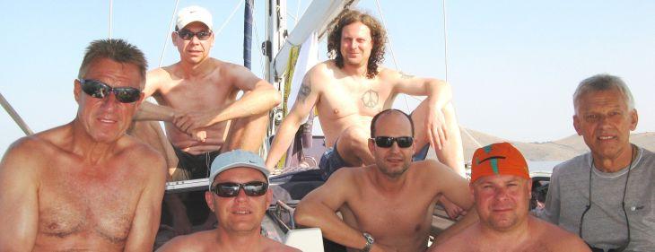 Des Skippers nackte Männer !