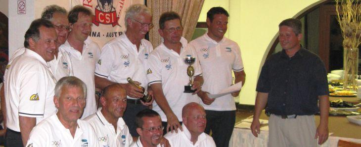 2. Gesamtrang ohne Spi beim 13. CSI-Cup in 2010