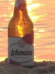 Flasche ist besser als Dose !