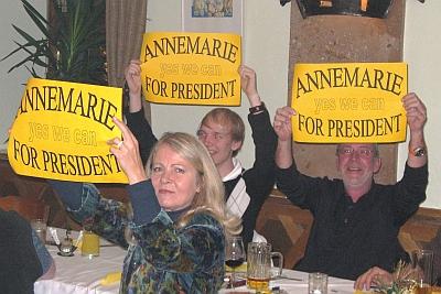 Yes we can - dank Clubsekretärin Annemarie Brandstätter