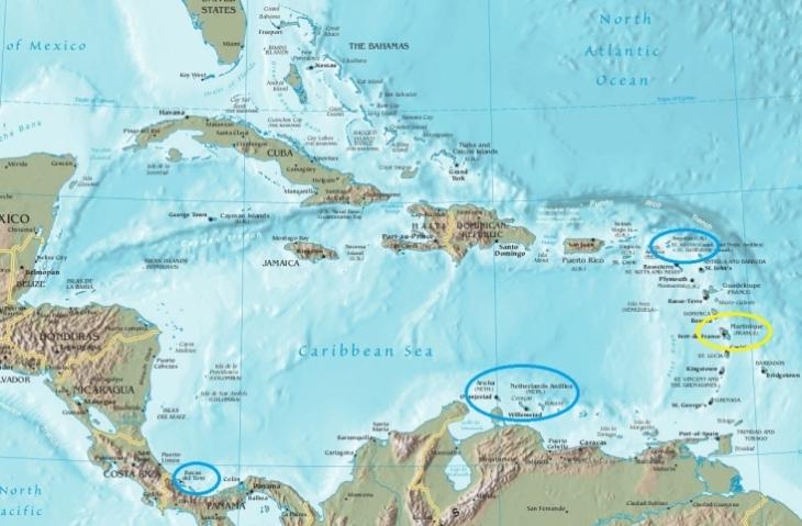 Die Karibik im Überblick !