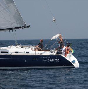 Segeln im Thyrenischen Meer